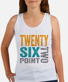 Twenty Six Point Two Marathon Motivation Tank Top