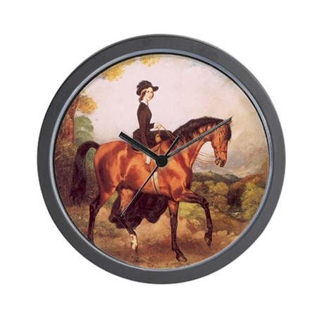 Sarah Elizabeth Connolly Portrait Wall Clock