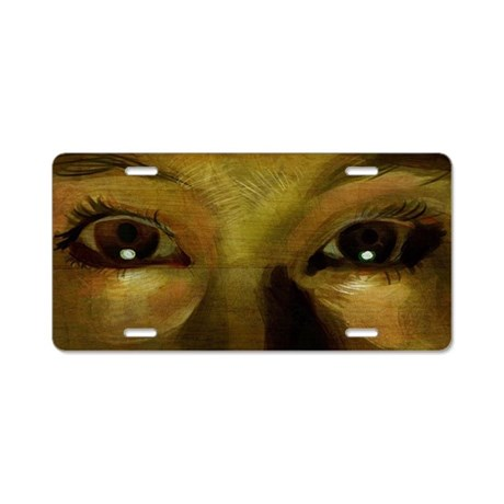Eyes to See Aluminum License Plate