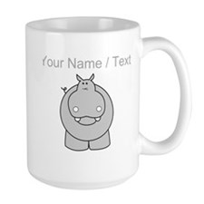 Custom Hippo Mugs
