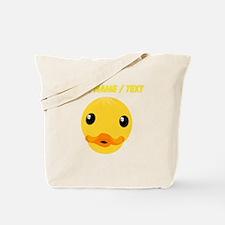 Custom Duck Face Tote Bag