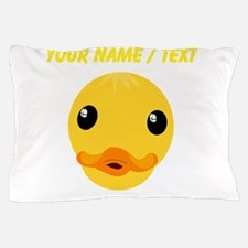 Custom Duck Face Pillow Case