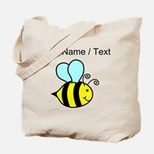 Custom Cartoon Bee Tote Bag