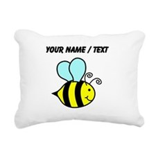 Custom Cartoon Bee Rectangular Canvas Pillow