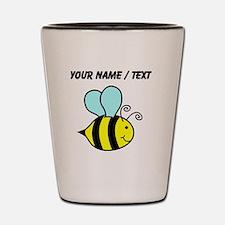 Custom Cartoon Bee Shot Glass