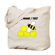 Custom Honeycomb Bee Tote Bag