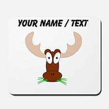 Custom Brown Moose Mousepad
