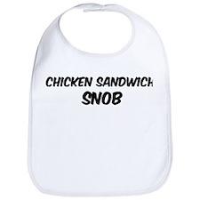 Chicken Sandwich Bib
