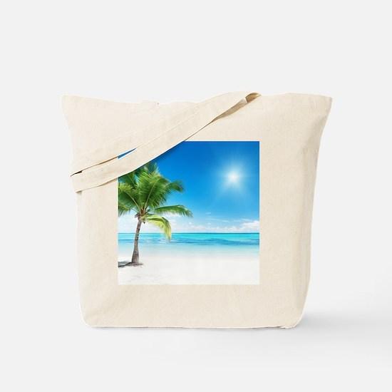 Beautiful Beach Tote Bag