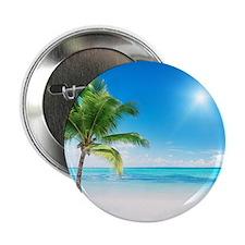 "Beautiful Beach 2.25"" Button (100 pack)"