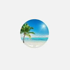 Beautiful Beach Mini Button (10 pack)