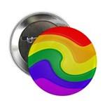 Twirly Rainbow Button