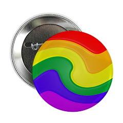 Twirly Rainbow Button