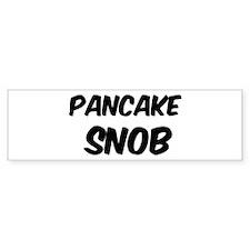 Pancake Bumper Bumper Sticker