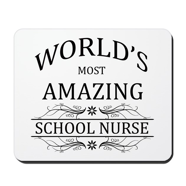 World's Most Amazing School Nurse Mousepad by schooldesigns