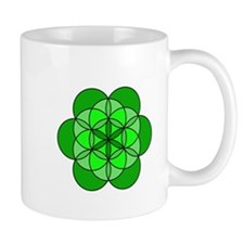 Heart Flower of Life Mug