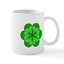 Heart Flower of Life Small Mug