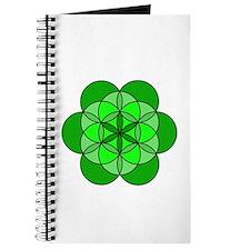 Heart Flower of Life Journal