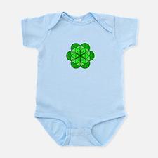 Heart Flower of Life Infant Bodysuit