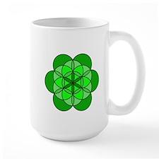 Heart Flower of Life Mug