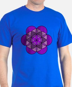 Crown Flower of Life T-Shirt