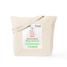 Kenyan Food Pyramid Tote Bag