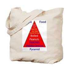 Georgia Food Pyramid Tote Bag