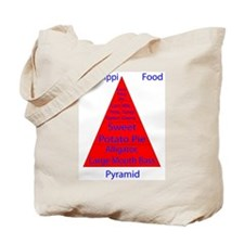 Mississippi Food Pyramid Tote Bag