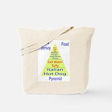 New Jersey Food Pyramid Tote Bag