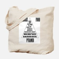 Tennessee Food Pyramid Tote Bag