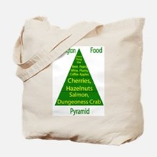 Washington Food Pyramid Tote Bag