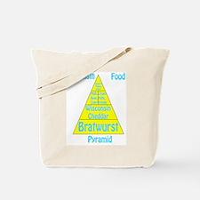 Wisconsin Food Pyramid Tote Bag