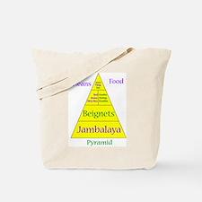 New Orleans Food Pyramid Tote Bag
