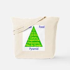 Brazilian Food Pyramid Tote Bag