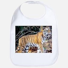 Tiger in the woods Bib