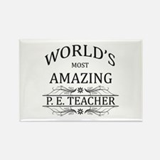 World's Most Amazing P. Rectangle Magnet (10 pack)