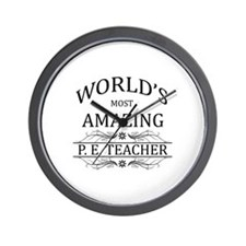 World's Most Amazing P.E. Teacher Wall Clock