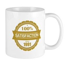 Satisfaction since 1991 Mugs