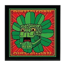 Aztec God Quetzalcoatl Tile Coaster