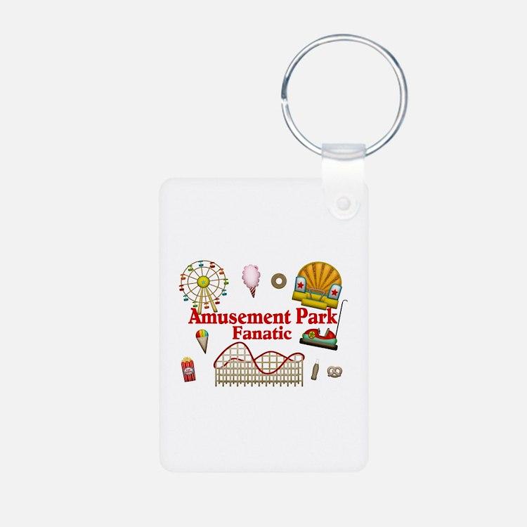 Amusement Park Fanatic Keychains