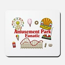 Amusement Park Fanatic Mousepad
