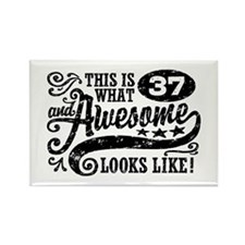 37th Birthday Rectangle Magnet