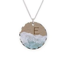 LETTERS IN SAND E Necklace