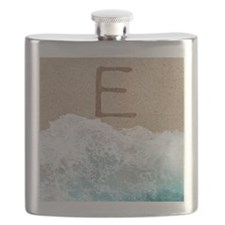 LETTERS IN SAND E Flask