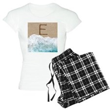 LETTERS IN SAND E Pajamas