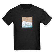 LETTERS IN SAND E T-Shirt