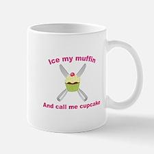 Cute Call me cupcake Mug