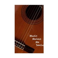 Music Makes Me Smile Decal