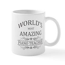 World's Most Amazing Piano Teacher Mug
