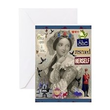 Once Upon A Time Card Greeting Cards